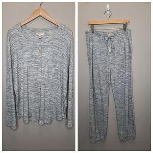 Madewell Waffle Knit Pajama Set